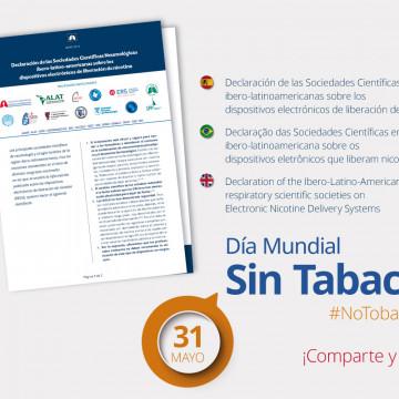 Declaración de las Sociedades Científicas Neumológicas ibero-latinoamericanas sobre los dispositivos electrónicos de liberación de nicotina