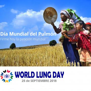 25 de septiembre: Día Mundial del Pulmón