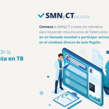 Nueva encuesta en Tuberculosis, ¡participa hoy!