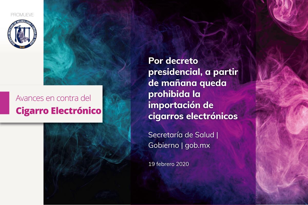 Avances en México, liderando el control del cigarro electrónico