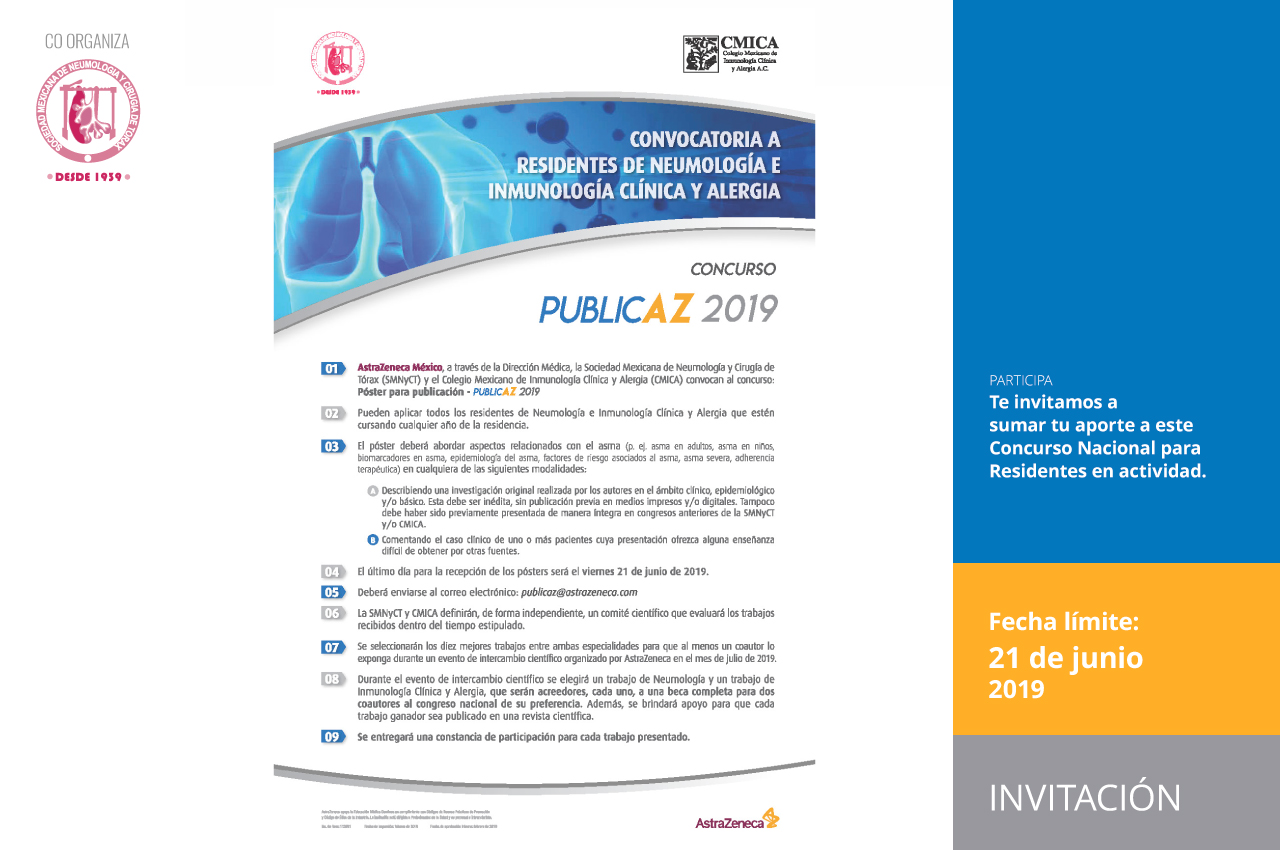 Convocatoria abierta: Póster para publicación - PUBLIC AZ 2019