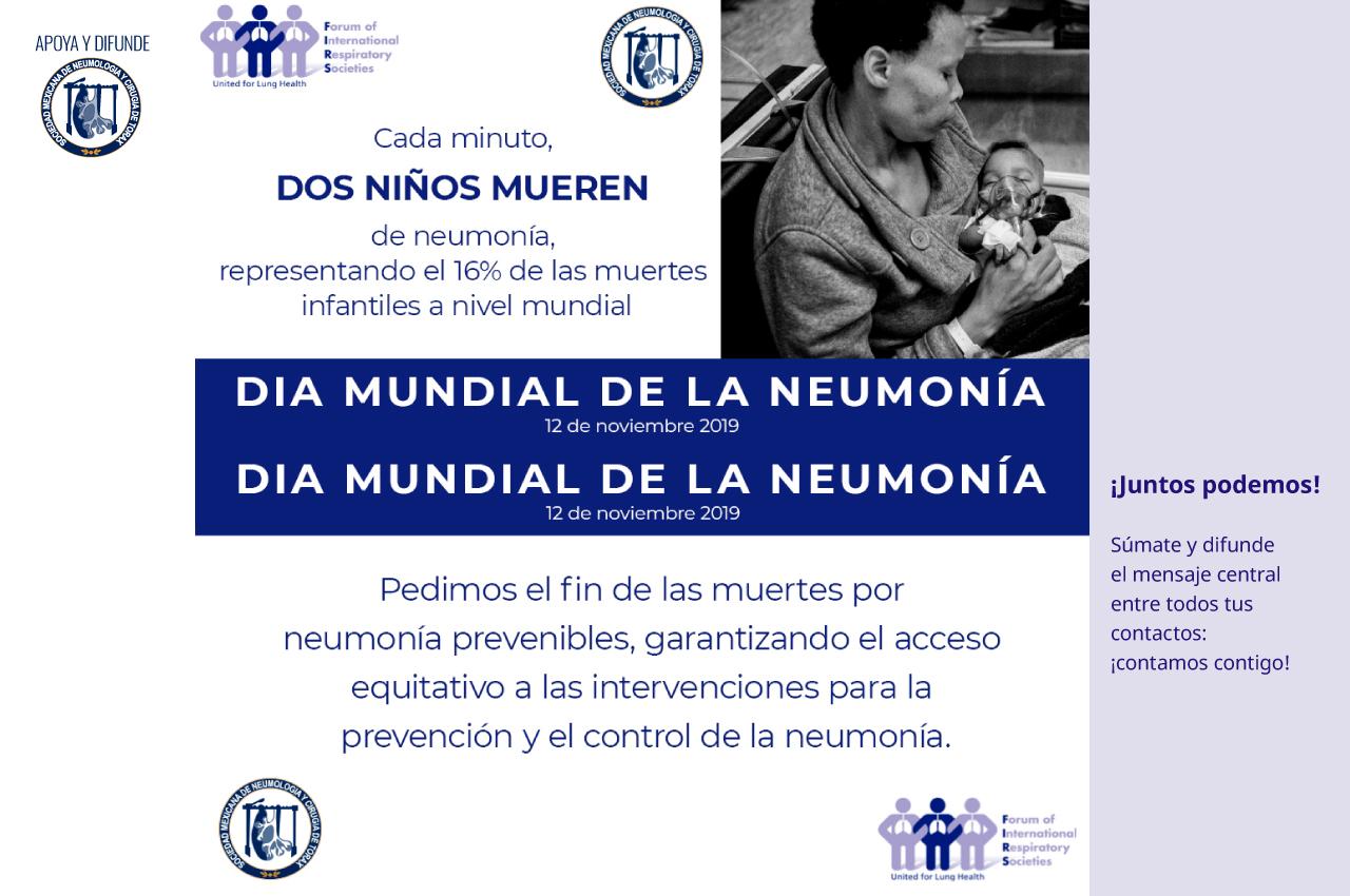 Día Mundial de la Neumonía, 2019