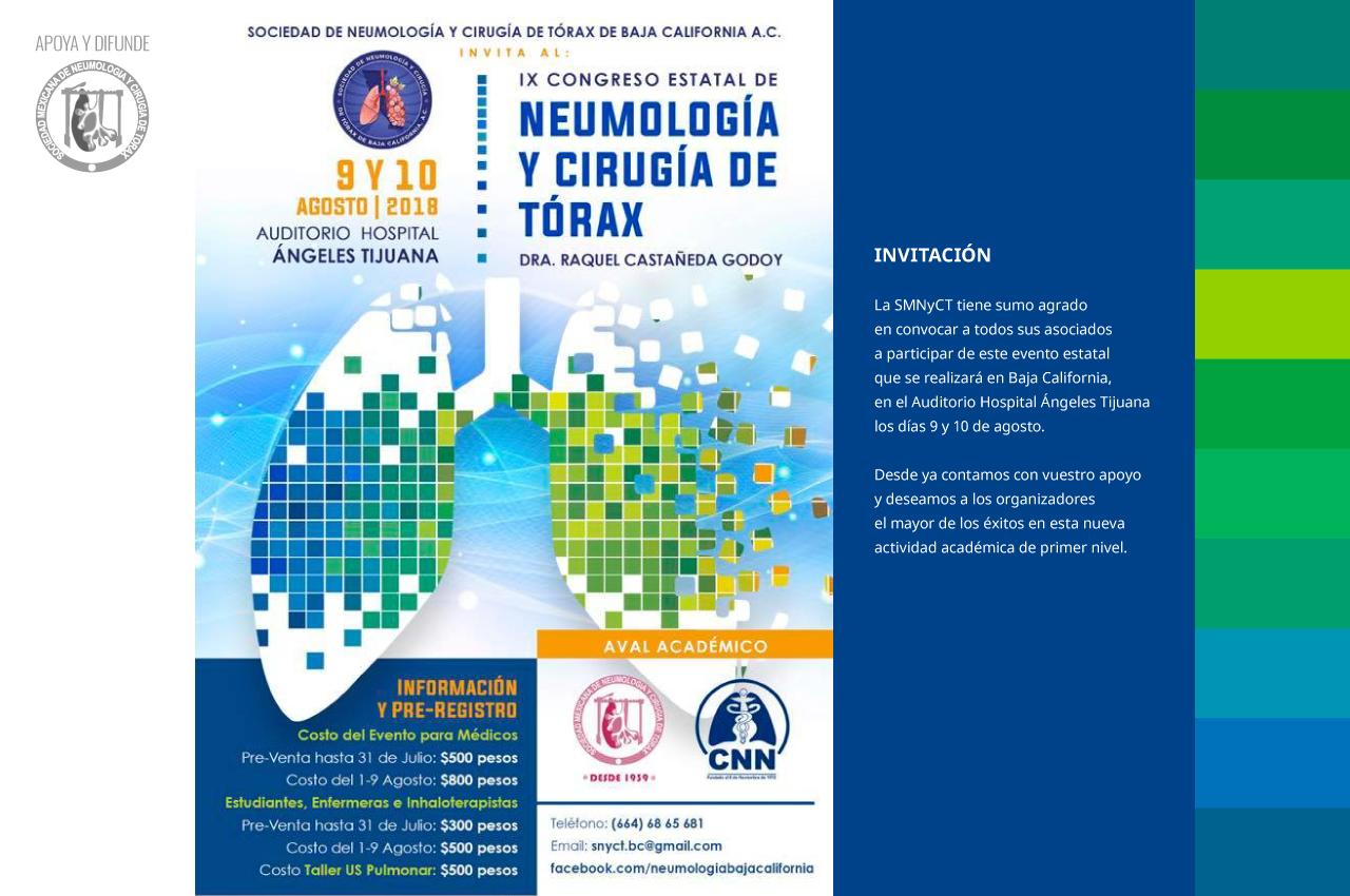 IX Congreso Estatal de Neumología y Cirugía de Tórax