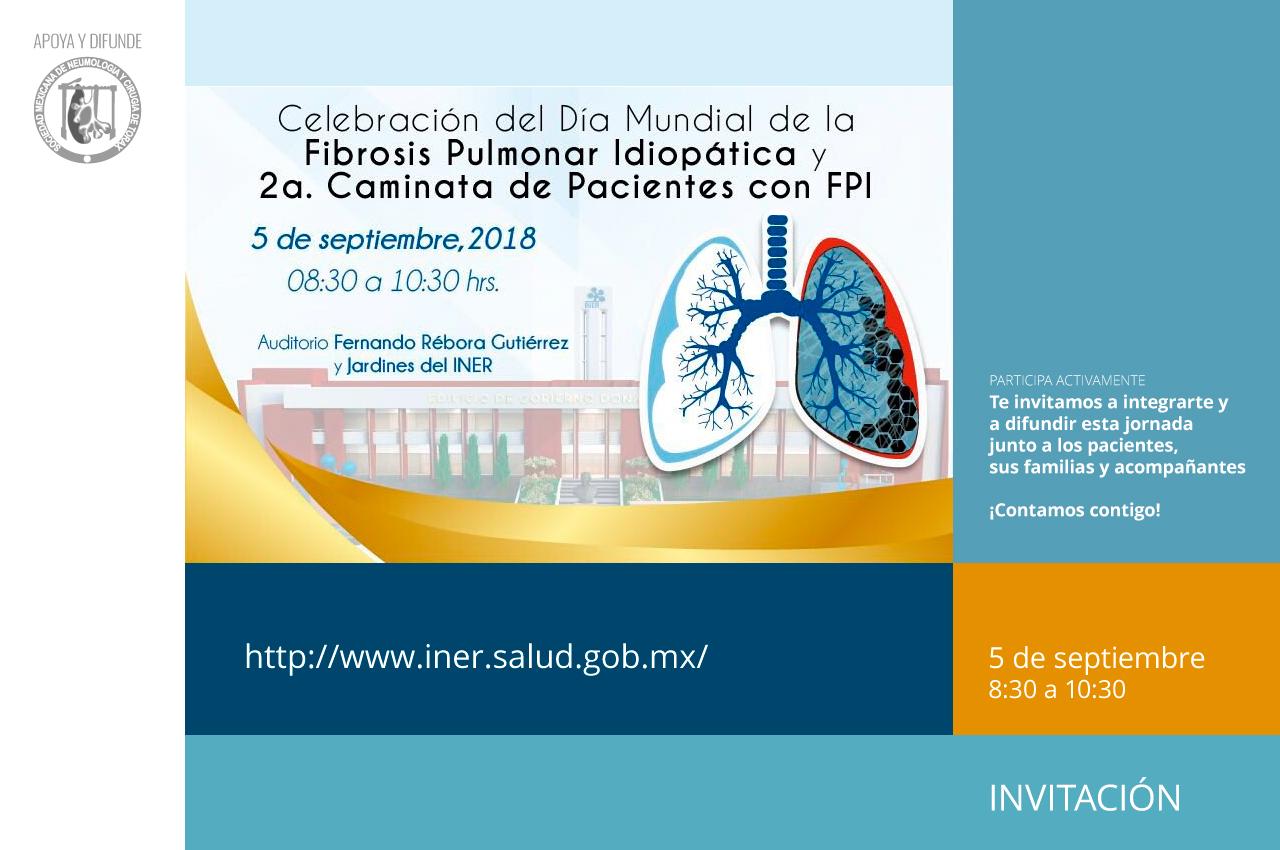 ¡Gracias por participar!: Día Mundial de la Fibrosis Pulmonar Idiopática