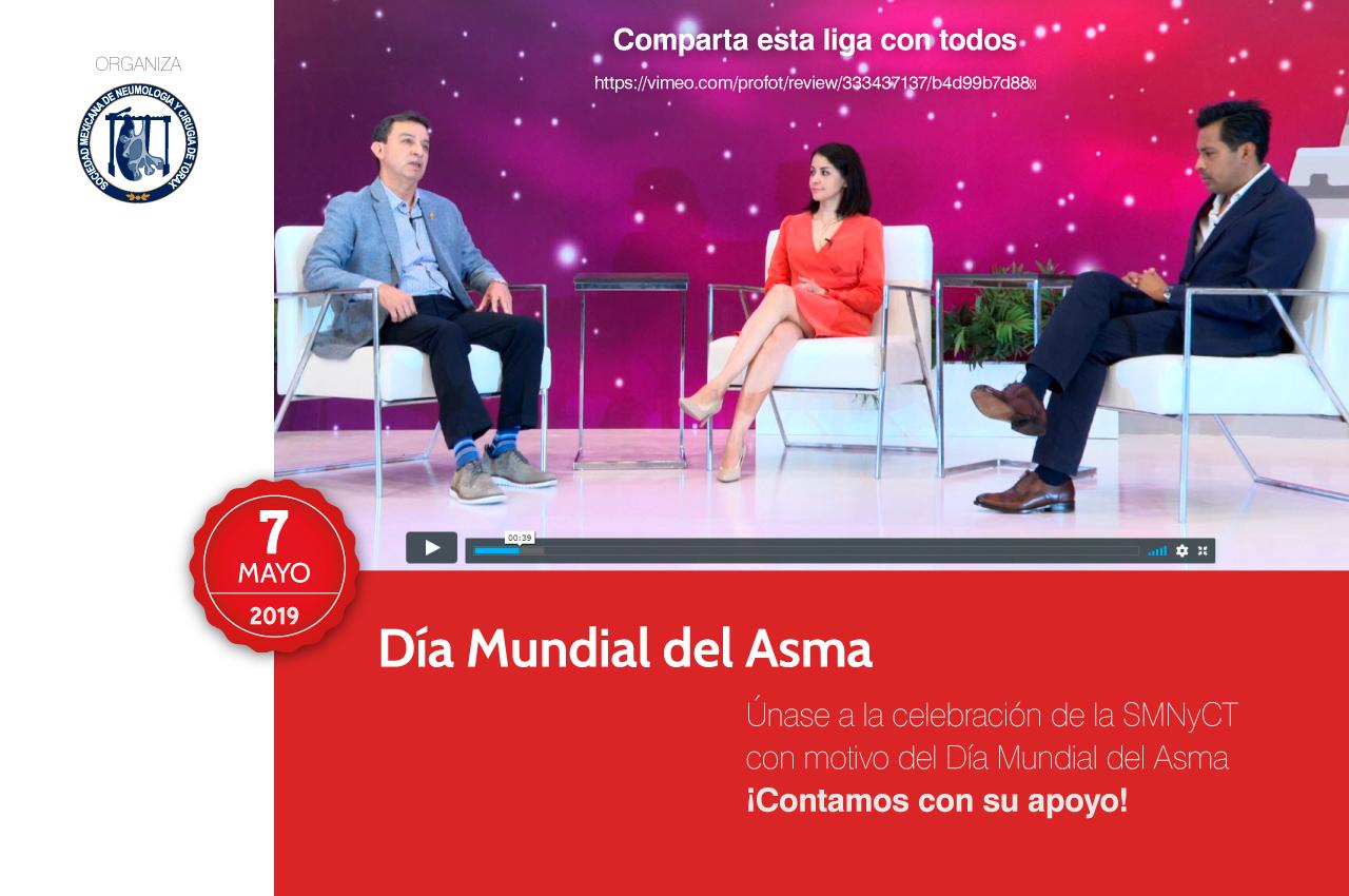 Únase a la celebración de la SMNyCT con motivo del Día Mundial del Asma
