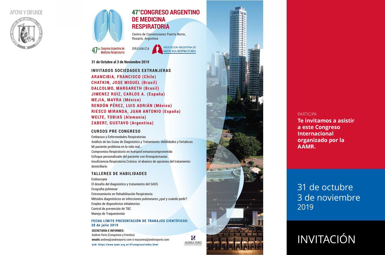 47º Congreso Argentino de Medicina Respiratoria