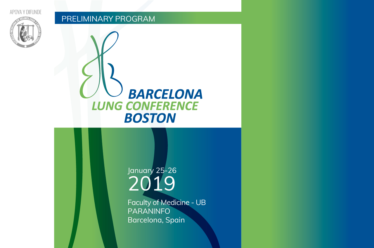 Barcelona-Boston Lung Conference, 6ª edición. 2019
