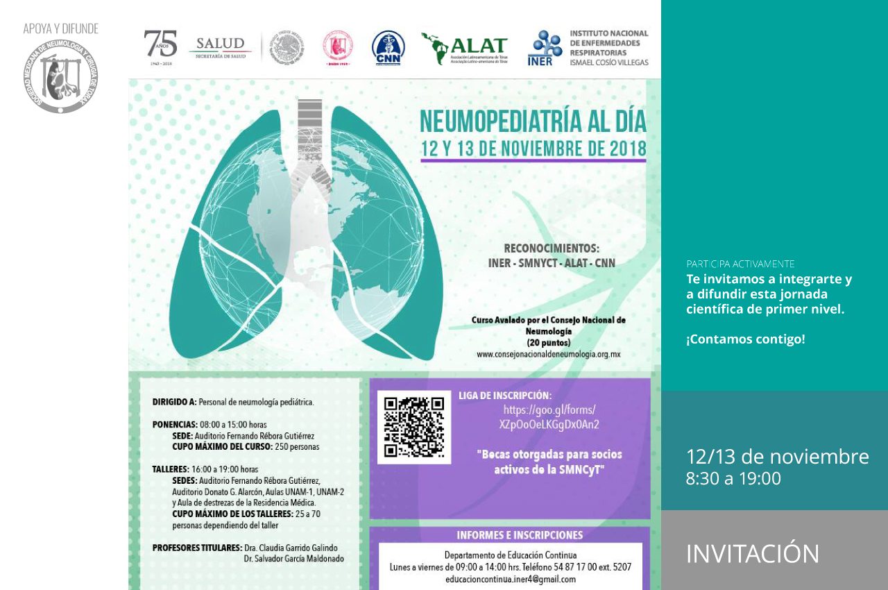Curso de Neumopediatría al Día 2018