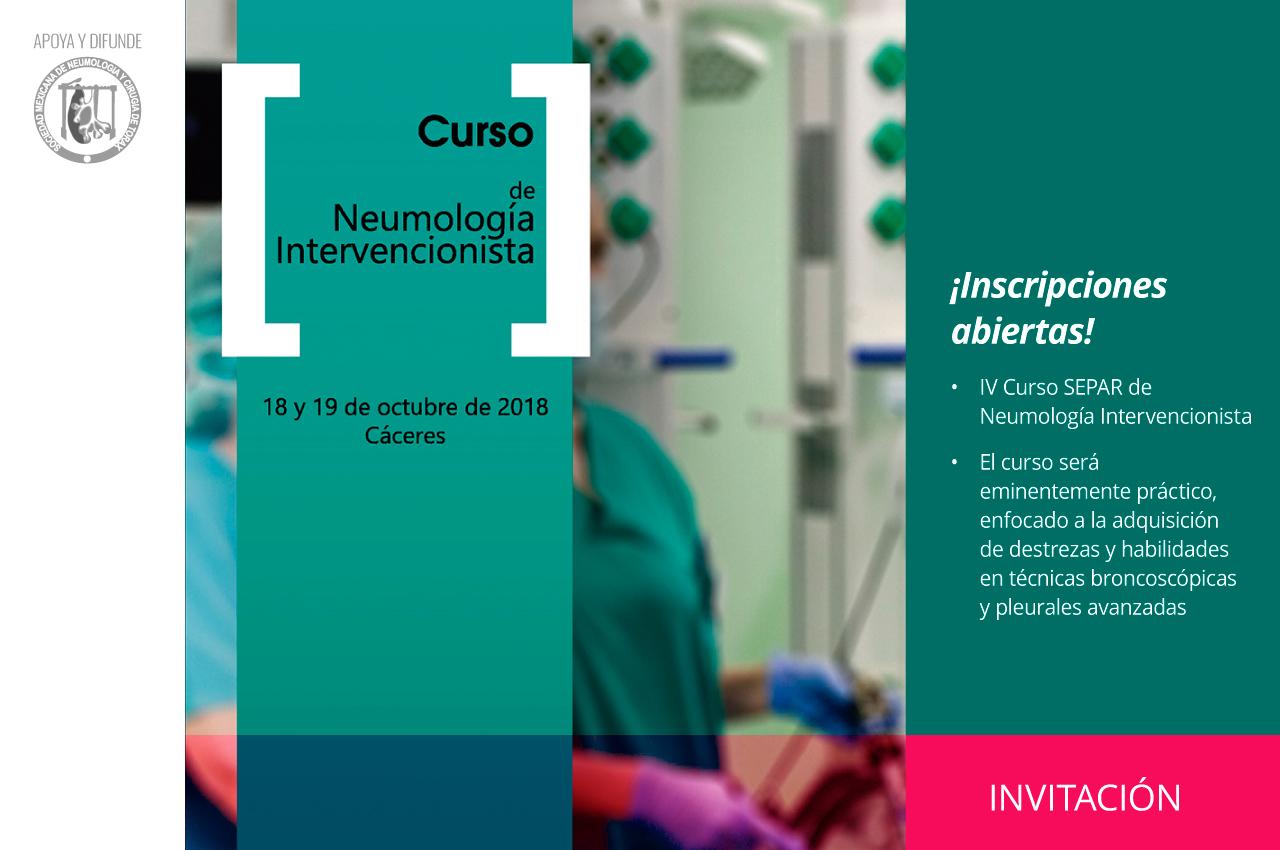 IV Curso SEPAR de Neumología Intervencionista
